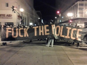 Occupy Assault on Police